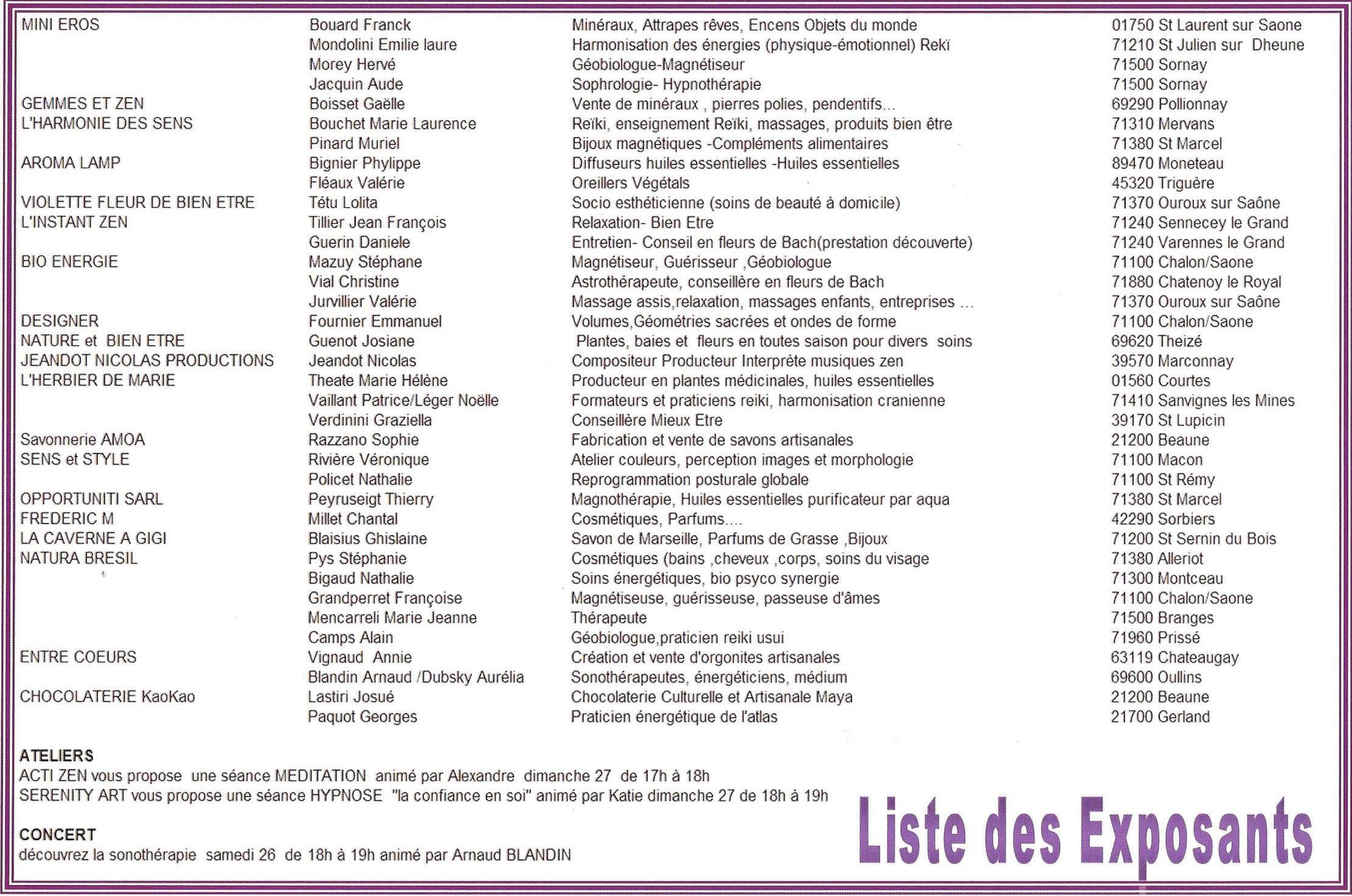 Liste des rencontres fdj